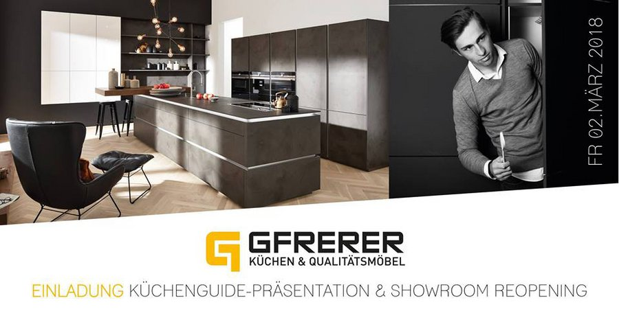 Küchenguide-Praesentation & Showroom-Reopening